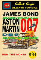 Corgi Toys 261 James Bond Aston Martin DB5 A4 Size Poster Advert Sign Leaflet