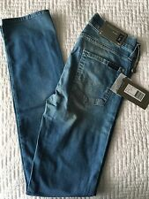 "7 For All Mankind Women's Jeans Original Brand New Size 25"" Slim Cut"