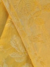délicate  dentelle ancienne vintage jaune hair légére  10 métres sur 1,5 cm A3