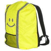 Regenschutz für Schulranzen Rucksack Schutzhülle Reflektor Überzug Regen Gelb