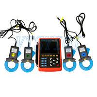 Three Phase Power Quality Analyzer Meter ETCR068B Clamp Current Sensor ETCR5000