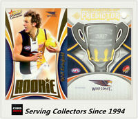 2007 Select AFL Supreme Predictor West Coast +Draft Rookie PDR15 Will Schofield