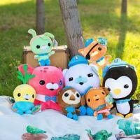 The Octonauts Octo Glow Crew Pack Barnacles Kwazii Peso Plush Doll Kids Toys