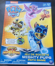 Sealed Nickelodeon Paw Patrol Mighty Pups Paw Path Game 3+ Toys 2-4 Players