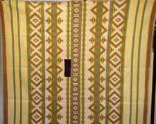 OUTSTANDING BOLD AMAZING HANDSOME ANTIQUE  INDIAN DESIGN BLANKET