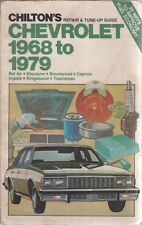 Chevrolet Bel Air Biscayne Brookwood Caprice Impala 1968-79 Owners Manuel de réparations