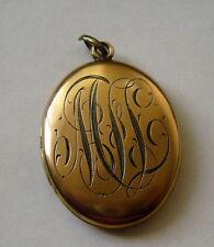 Vintage Gold Plated Locket