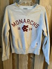 Kansas City Monarchs Vintage Baseball League Gray Sweatshirt Size S
