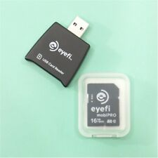 NEW eyefi mobiPRO 16GB Class 10 SD Memory Card RAW AUTO UPLOAD *PLEASE READ!*