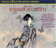 G Puccini Madama Butterfly RCA Victor Opera Series 2-Disc Set RARE HTF USED