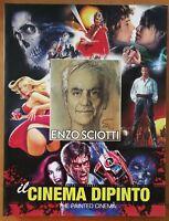 Buch Die Kino Gemälde Enzo Sciotti Maestro Skizzen Plakat Werbeplakat Poster