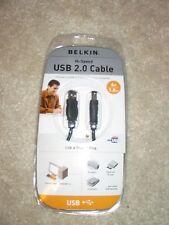 BELKIN USB 2.0 Cable Hi-Speed 6-Ft. 1.8m USB A Plug/B Plug ~ F3U133V06