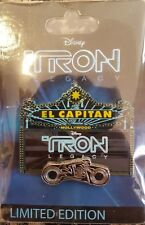 TRON Legacy El Capitan Theater Marquee Pin Lightcycle LE 500 Disney Sam Flynn