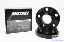 "Muteki Forged 20mm 25/32"" Hub Centric Wheel Spacer Adapter 5x114 60.1mm 12x1.5 b"