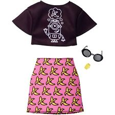 Barbie Despicable Me Top/Banana Skirt Fashion