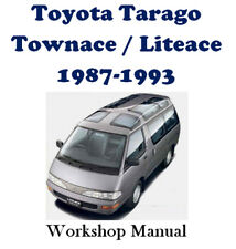 TOYOTA TARAGO / TOWNACE / LITEACE 1987-1993 WORKSHOP MANUAL ON CD OR DOWNLOAD