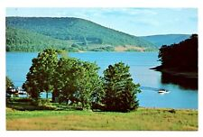 Lake Iroquoia New York Postcard Kinzua Dam Camping Boating Vintage Unposted