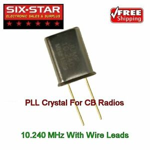 CB Radio Crystal PLL FITS Most CB & 10 Meter Radios - 10.240 MHz Replacement PLL