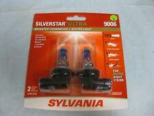 NEW Sylvania  9006 SilverStar Ultra Halogen Headlight Bulbs 9006SU.BP2