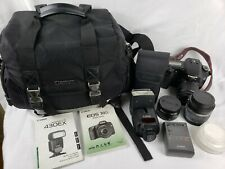 Canon EOS 30D, # DS126131 Digital Camera, 3 Lenses, 1 Battery, 1 Charger & More