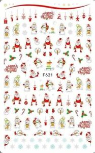 Christmas Nail Stickers F621
