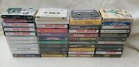 Lot of 60 Mixed Music Cassette Tapes Vintage REM AC/DC Madonna Journey & more