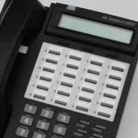 Charcoal STSe Replacement Vodavi STS Handset 3515-71 3516-71 Phone Black