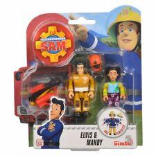 Elvis & Mandy | Feuerwehrmann Sam | Spiel Figuren Set | Simba Toys