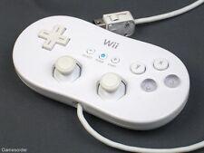 ORIGINAL NINTENDO Wii CLASSIC CONTROLLER - WEISS -