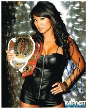 GAIL KIM WWE TNA AUTOGRAPH 8X10 PHOTO AUTOGRAPHED SIGNED