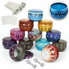 Diy Candle Making Kit With 12 Pcs Exquisite Candle Containers & 50 Candle Wicks