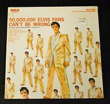 SEALED Elvis Presley RCA 2075 50,000,000 Elvis Fans Can't Be Wrong 70's or 80's