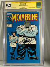 Wolverine #8 CGC 9.2 S.S By Chris Claremont #25363490001