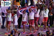 TEAM GB RIO OLYMPICS CLOSING CEREMONY -RIO LIGHTS- LIGHT UP FLASHING SHOES Sz 7