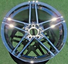 NEW Genuine GM OEM Factory CHROME Corvette Z06 ZO6 REAR 19 WHEEL 5347 9597716