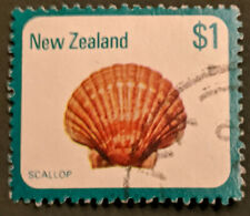 Stamp New Zealand 1979 $1 Sea Shells - Scallop Used