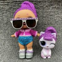 LOL Surprise Doll Bling Queen Glitter Under Wraps & Lil Purrfect Bling Kitty