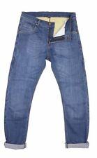 Pantaloni Trousers Moto Jeans Kevlar MODEKA ALEXIUS Elasticizzati Stretched Blue