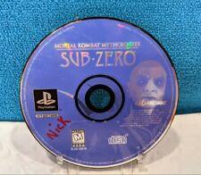 Mortal Kombat Mythologies: Sub Zero (Sony PlayStation 1, 1997) Disc Only