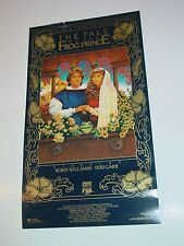 Vintage Original Faerie Tale Theatre The Frog Prince Poster Robin Williams