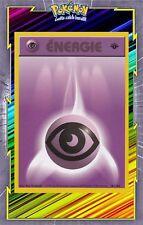 🌈Energie Psy - Set de Base Edition 1 - 101/102 - Carte Pokemon Neuve Française