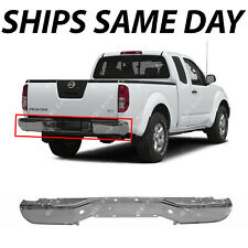 NEW Chrome Steel Rear Bumper Face Bar Shell for 2005-2017 Nissan Frontier 05-17