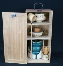 Vintage Japanese Tea Ceremony set 1900s Oribe set Japan ceramic wear