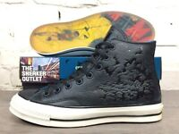 New Converse Chuck Taylor Hi Top Batman DC Trainers UK Size 11 Black Leather