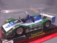Ferrari Collection F1 333 SP 1998 1/43 Scale Mini Car Display Diecast vol 75
