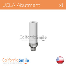 1x Titanium base UCLA Original Abutment For Dental Implant Internal Hex
