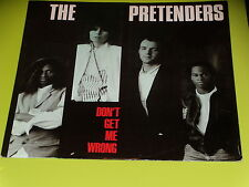 "MAXI 45 TOURS 12 "" - THE PRETENDERS - DON'T GET ME WRONG - 1986"