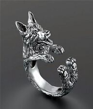 German Shepherd Ring Adjustable Dog and Puppy Lovers Fashion Jewelry AR-41