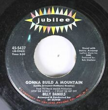 50'S & 60'S 45 Billy Daniels - Gonna Build A Mountain / What Kind Of Fool Am I?