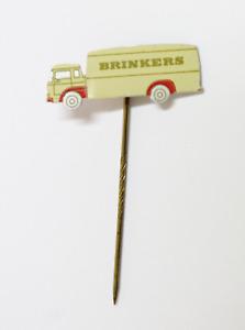 PIN de Alfiler Insignia Metal BRINKERS Chocolate Paises Bajos VINTAGE  c.1960